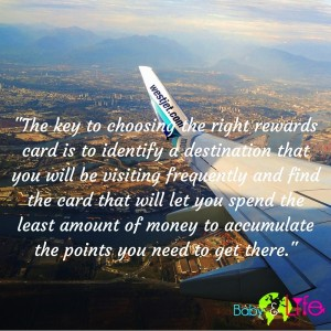 sing the right rewards card is to identi