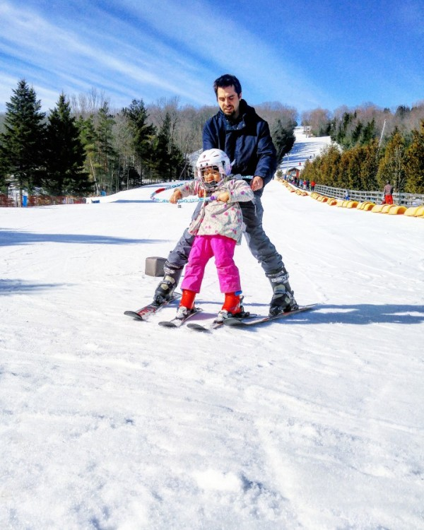 Beaver Valley Ski club, skiing with kids