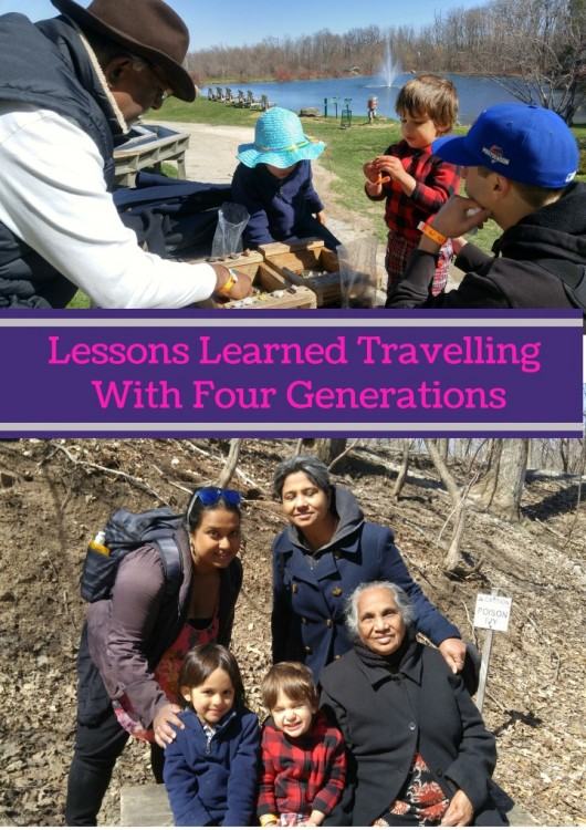 Lessons Learned Travelling With Four Generations (Custom)