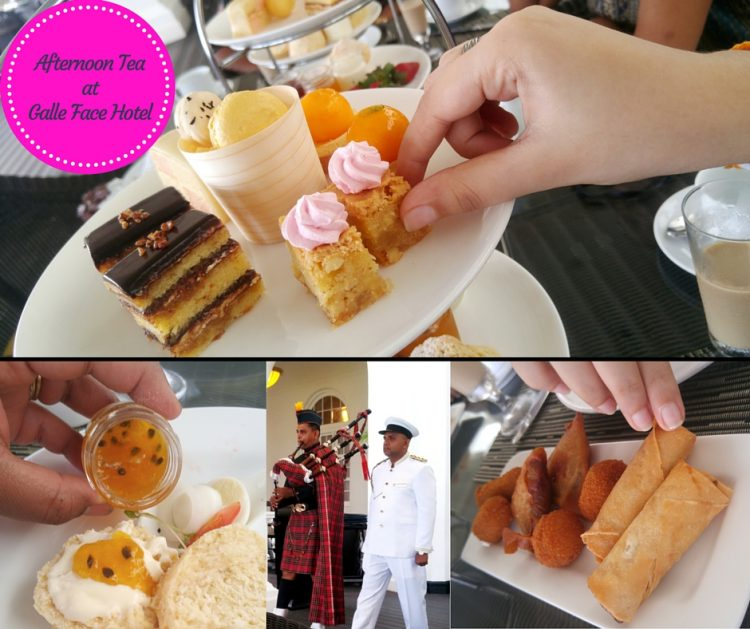 galle face afternoon tea review