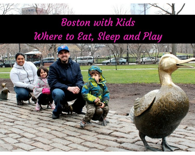 Boston with kids