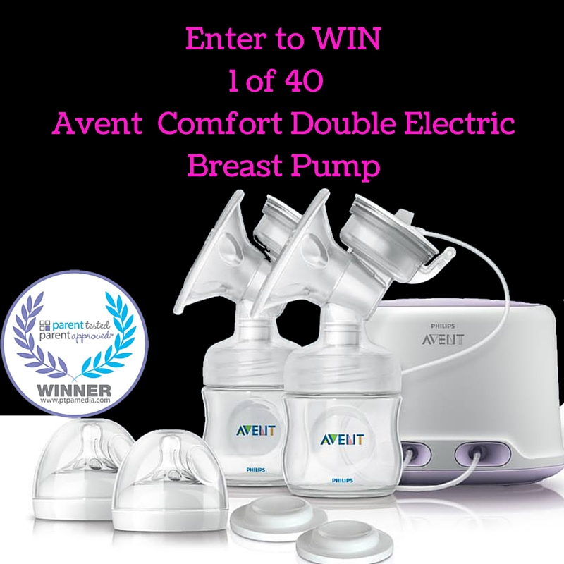 Avent Comfort Double Electric Breast Pump Giveaway