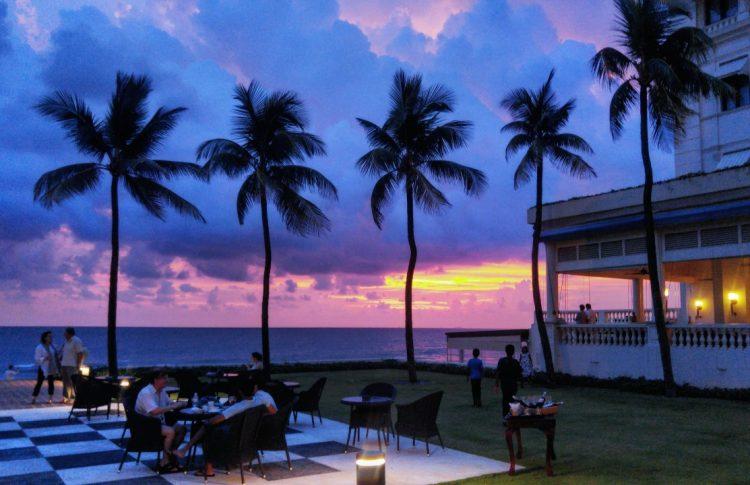 Galle Face hotel , sri lankan sunsets