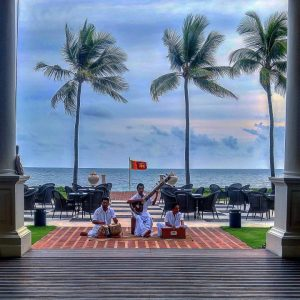 Afternoon Tea at the Galle Face Hotel, Sri Lanka
