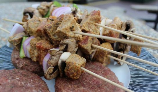 BBQing like a True Canadian | Easy Boti Tikka Skewers