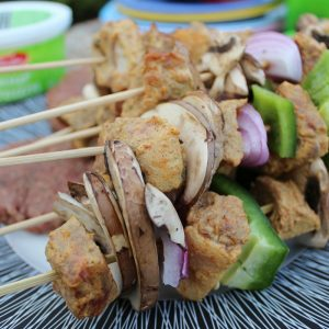 BBQing like a True Canadian | Easy Boti Tikka Skewers