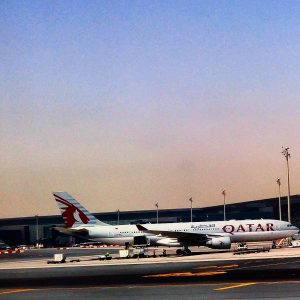 flying with qatar airways