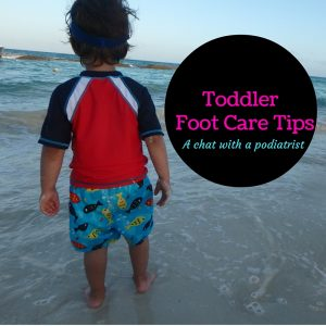 Toddler Foot Care Tips