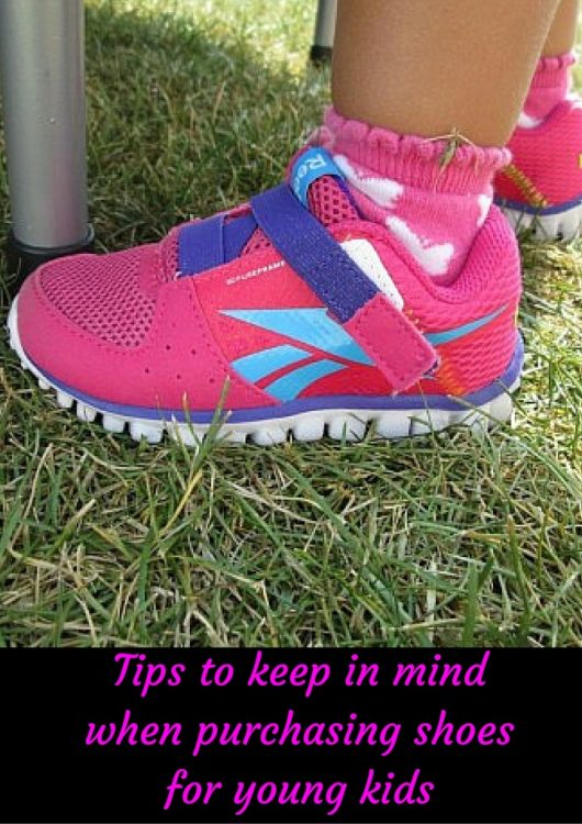 tips for buying shoes for kids