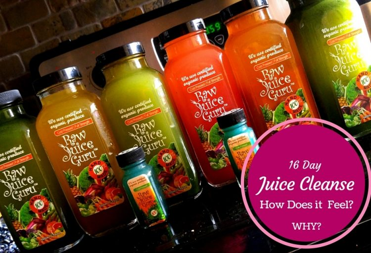 why do a juice cleanse