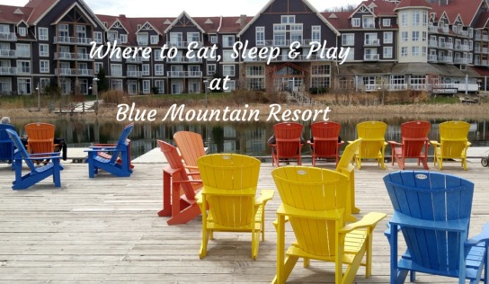 Where to Eat, Sleep and Play in Blue Mountain with Kids and Grandparents  #MurphysDoBlueMountain