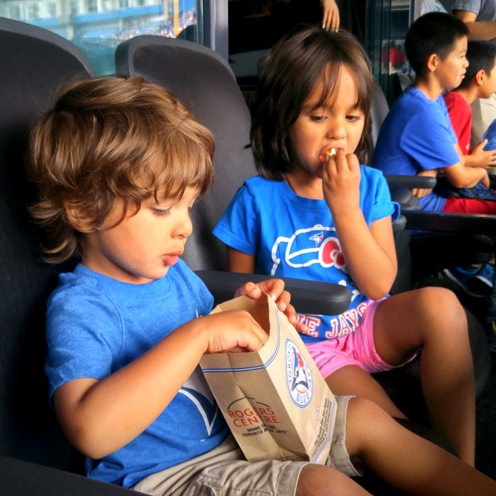304b7e8dd9f2 Blue Jays Game With Kids  LifeIn4K