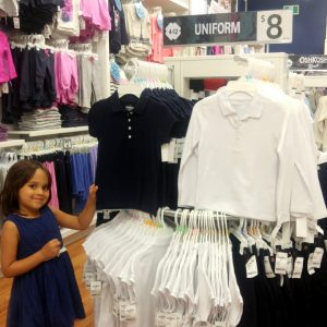 Fashion Friday  | Catholic School Uniform Shopping #CartersOshKosh #Kidsentials