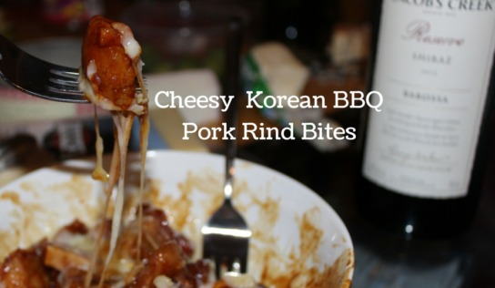 Korean Pork Rind Bites