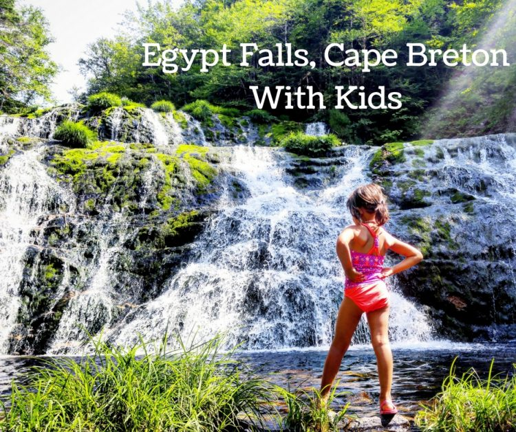 egypt falls, hiking with kids