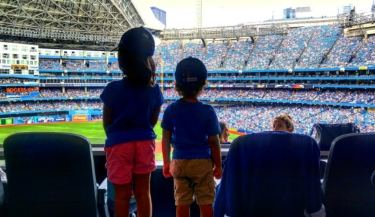 Blue Jays Game With Kids #LifeIn4K