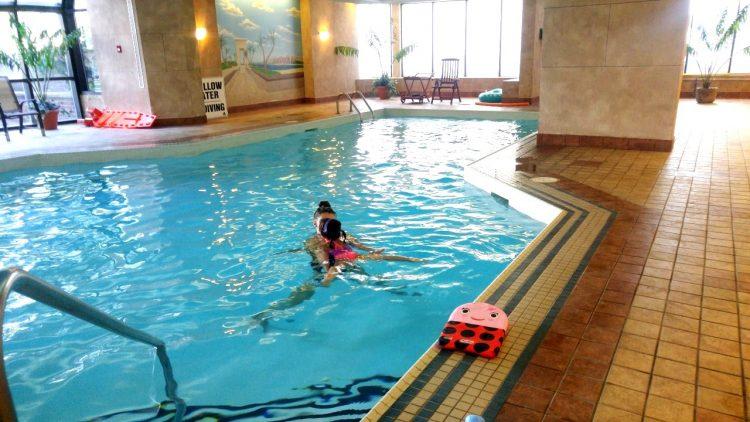 swim classes at home