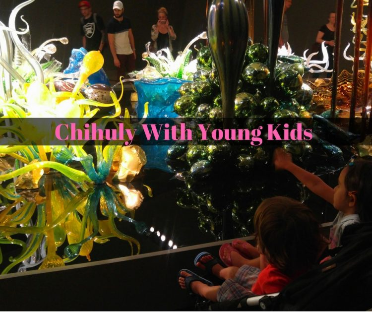 taking kids to see dave chihuly exhibit