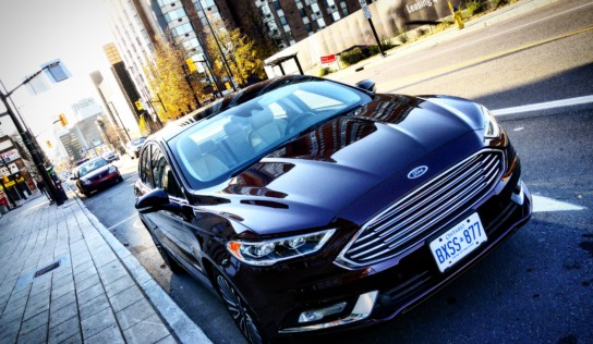 Finding Peace on the Highways with the 2017 Ford Fusion #MurphysDoOutaouais