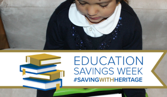 Our Children's Future | Saving for Higher Education #SavingWithHeritage