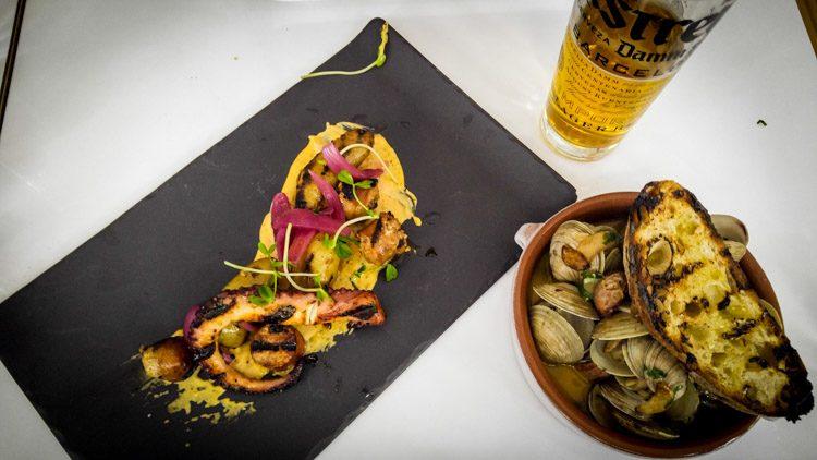 Barsa Taberna Almejas con Chorizo