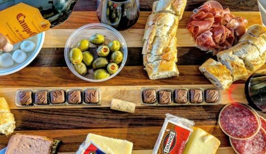 Wine and Cheese Nights | KitchenAid Mixer Giveaway #BornOnTheFarm
