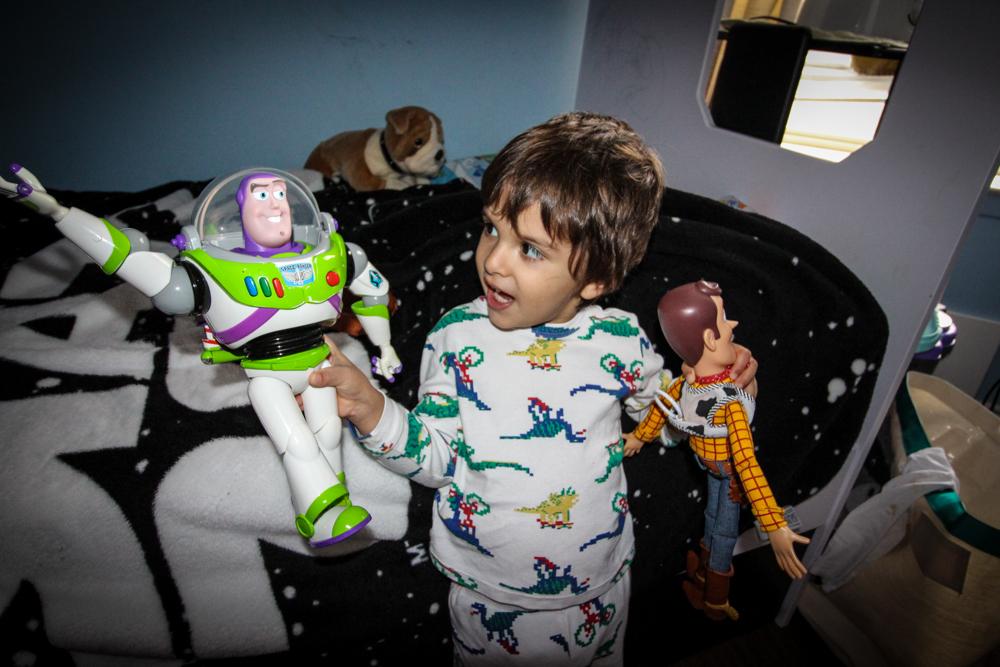 Woody and Buzz Lightyear Dolls
