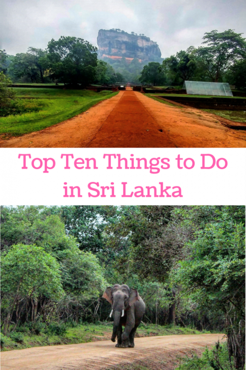 10 things to do in Sri Lanka