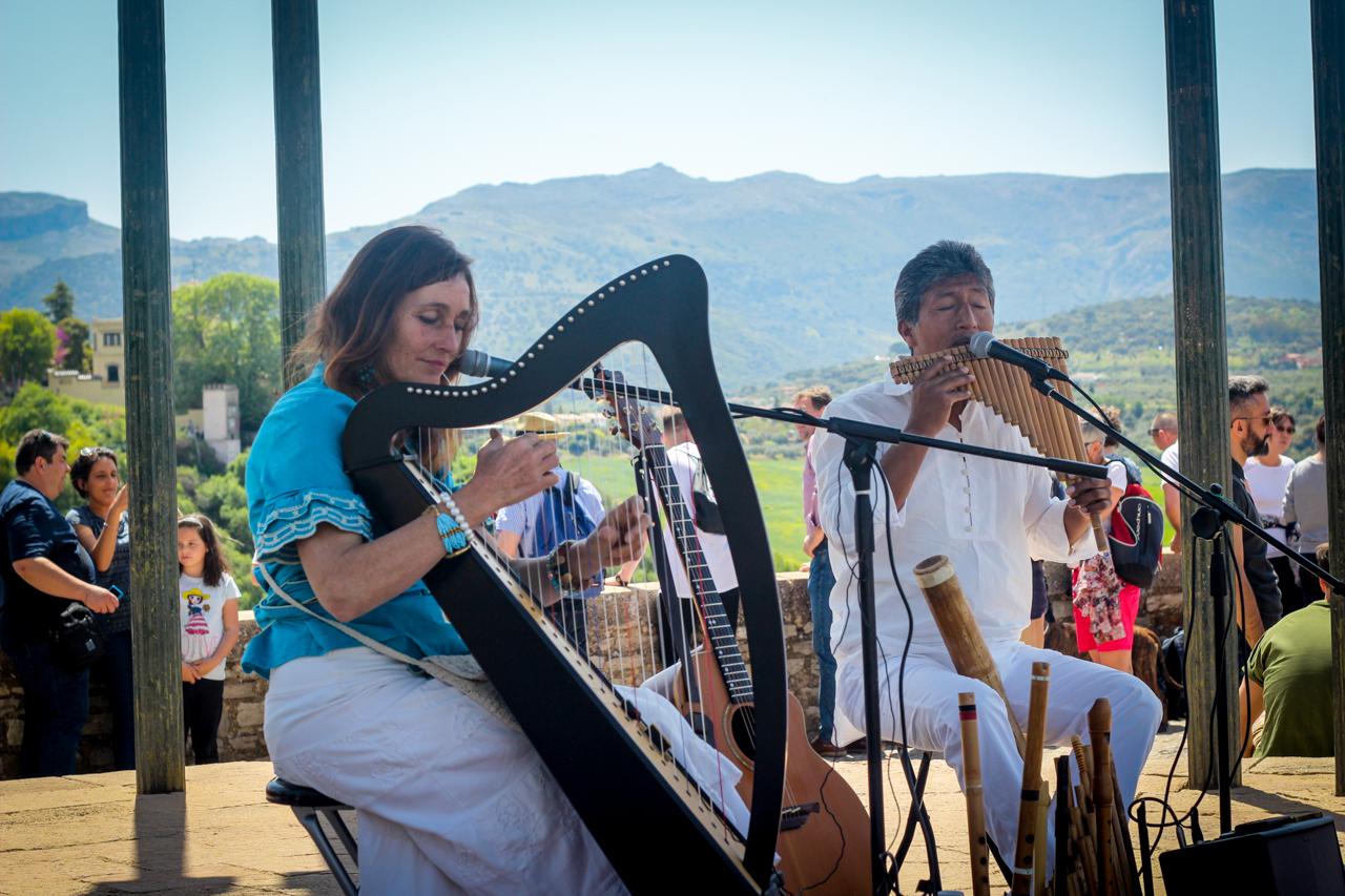 Musicians at Mirador de Ronda