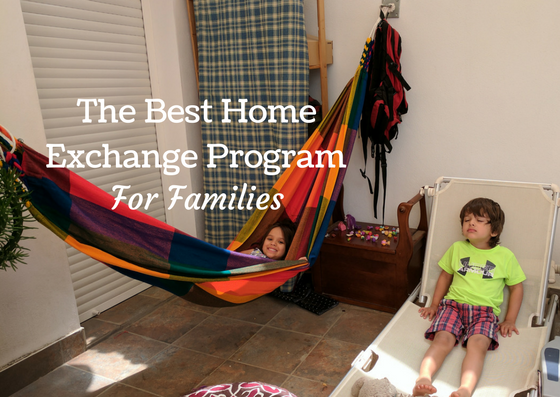 home exchange for families