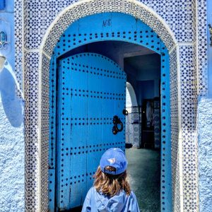 Chefchaouen With Kids