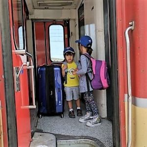 Taking The Train in Morocco With Kids