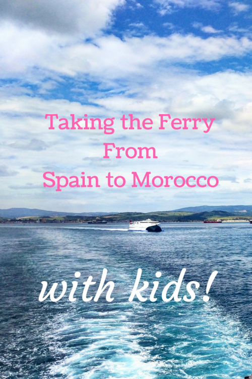 ferry spain to morocco