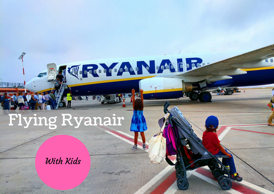 Ryanair with baby