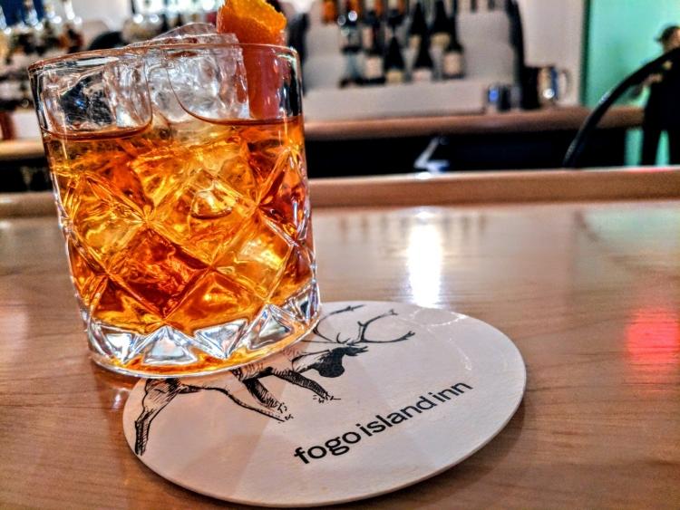 Fogo island drink
