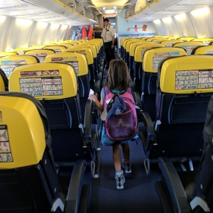 Ryanair with kids