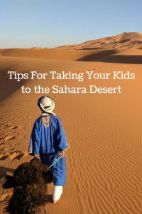 taking kids to desert in Morocco