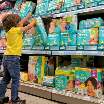 Pampers Baby Dry Canada