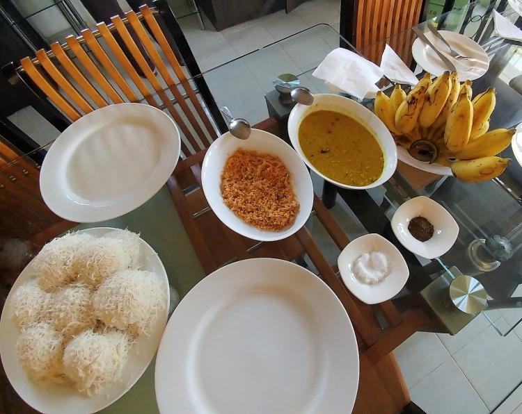 String hoppers Sri Lanka Food