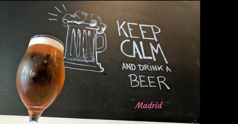 Craft beer in Madrid
