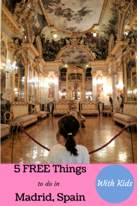Free Things To do in Madrid With Kids