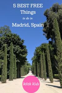 Free things Madrid