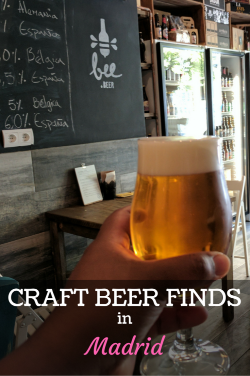 Craft beer in Madrid, Madrid beer