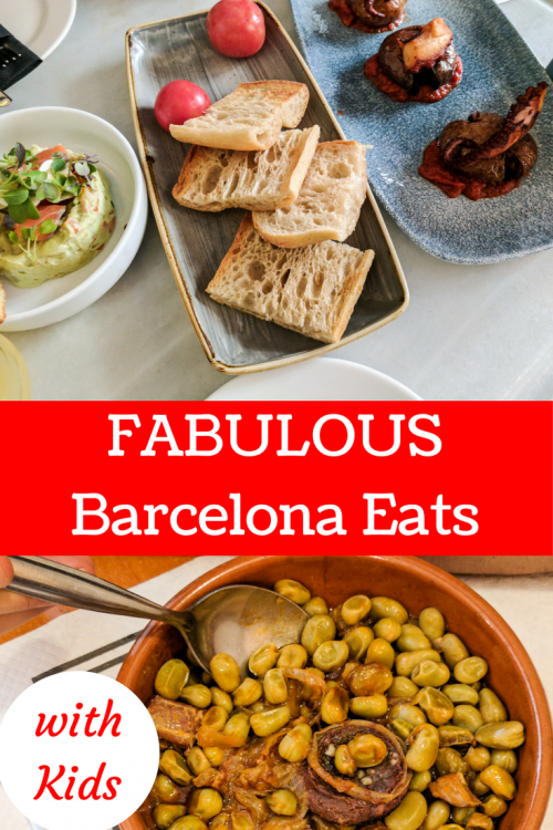 where to eat in Barcelona with kids
