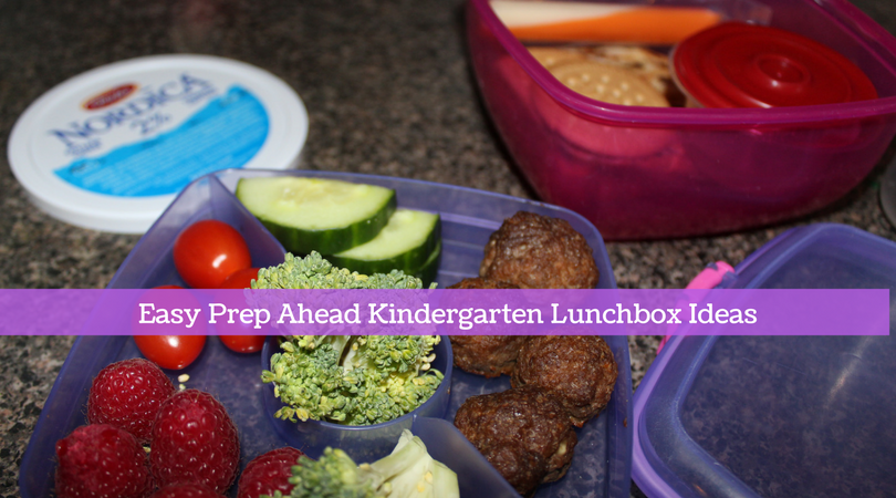 Easy Lunchbox Ideas For Kindergarten