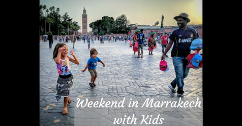 Marrakesh with kids