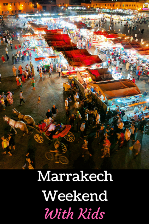 what to do in Marrakesh with kids