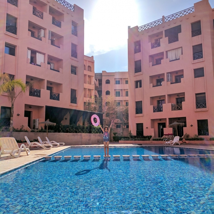 where to stay in Marrakech new city with kids