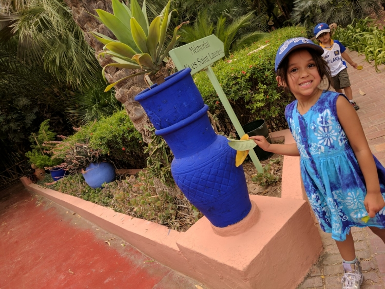 JArdin marjorelle with baby