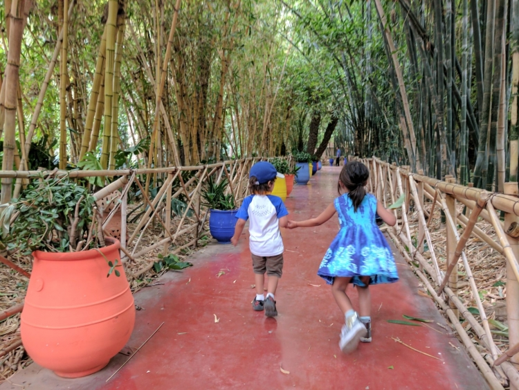 JArdin marjorelle with kids